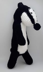 Bradley the Badger Amigurumi Crochet Pattern | Etsy | 300x180