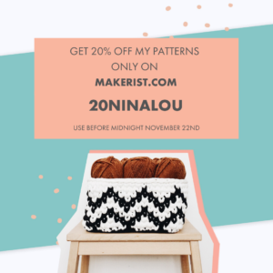 20% OFF Nina-and-Lou patterns